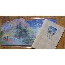 Adventskalender - Marias lilla åsna - Kalender och häfte