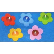 Blomsnurror - flera färger