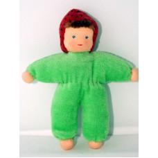 Minidocka - grön, 13 cm
