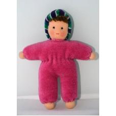 Minidocka - rosa, 13 cm