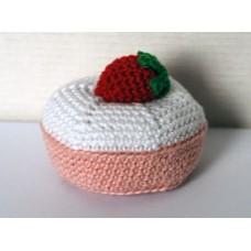 Muffin, jordgubb
