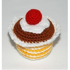 Cupcake, choklad