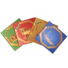 Kaplastavar - bok - röd, blå, gul eller grön