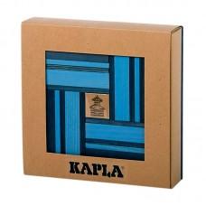 Kaplastavar - ljusblå-mörkblå + bok