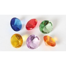 Glas - Diamanter, 6-pack