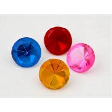 Glas - Diamanter, 4-pack