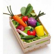 Box m grönsaker