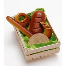 Box m olika bröd