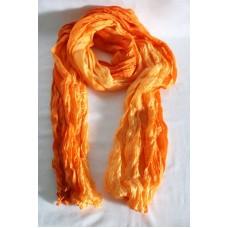 Sidensjal - Orange