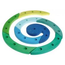 Adventsspiral - grön, röd eller natur