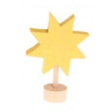 Stjärna till adventsspiral