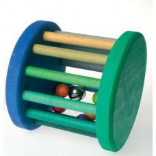 Roller, grön/blå