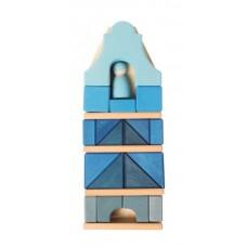 Gavelhus - blått