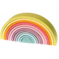 Stor regnbåge - 12 delar, pastell