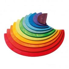 Lekplattor - halvcirkel, färg