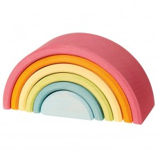 Regnbåge / Tunnel, pastell