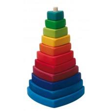 Plocktorn, triangel
