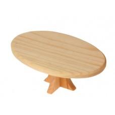Bord, ovalt