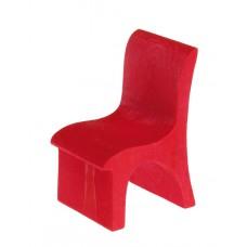 Stol, röd