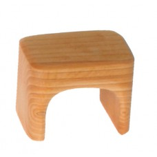 Sängbord - Pall, natur