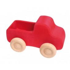 Liten lastbil, röd