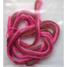 Garn, brun-rosa