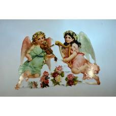 Bokmärke - Musicerande änglar