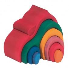 Lök-stuga, flerfärg