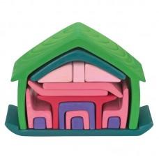 Möbel-hus, grön