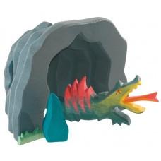 Grotta med drake