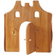 Port med dörr