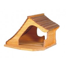 Hus / Stall med snedtak