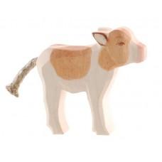 Ko - Kalv, brun, stående
