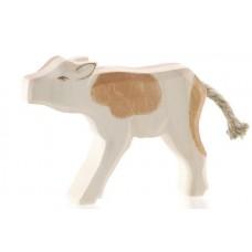 Ko - Kalv, brun, diande