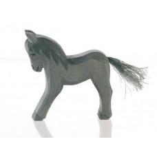 Häst - Föl, svart