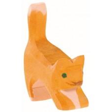 Katt - kattunge, gul