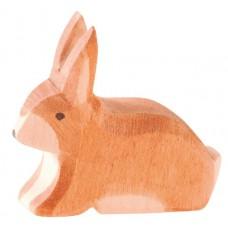 Hare, fläckig, sittande
