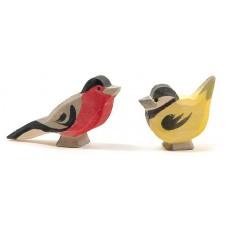 Fåglar - grupp 9 st