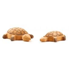 Sköldpaddor, 2 st - stor och liten