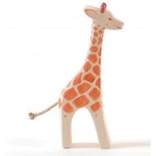 Giraff, stor, stående