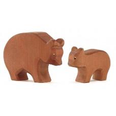 Björn, 2 st - stor och liten