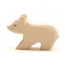 Isbjörn, unge, kort hals