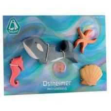 Havsdjur, 4 delar