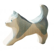 Hund - Slädhund, grå