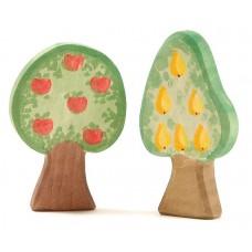 Träd - Äppelträd och Päronträd, 2 st