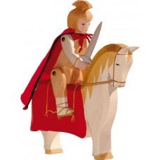 Sankt Martin till häst + tiggare