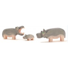 Flodhäst - familj