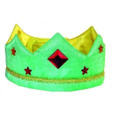 Sidenkrona, grön/gul