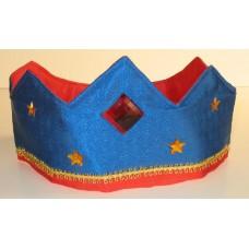 Sidenkrona, blå/röd