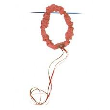 Hårband, rosenröd